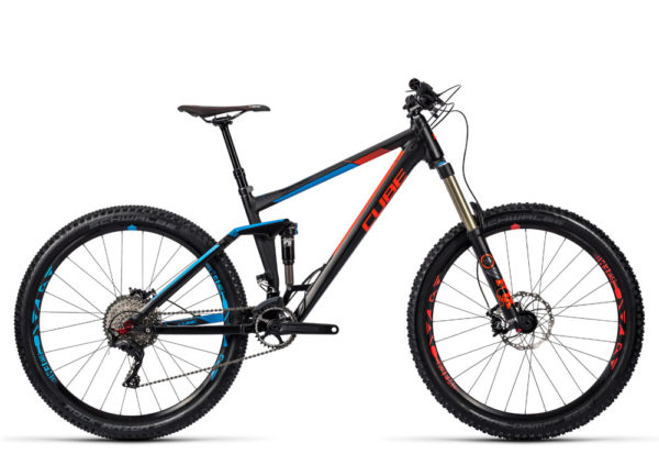 Cube Stereo 160 HPA Race 27.5 2016